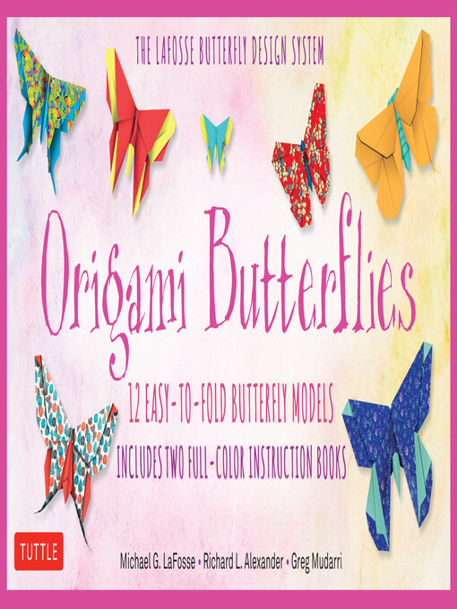 Title details for Origami Butterflies Ebook by Michael G. Lafosse - Available