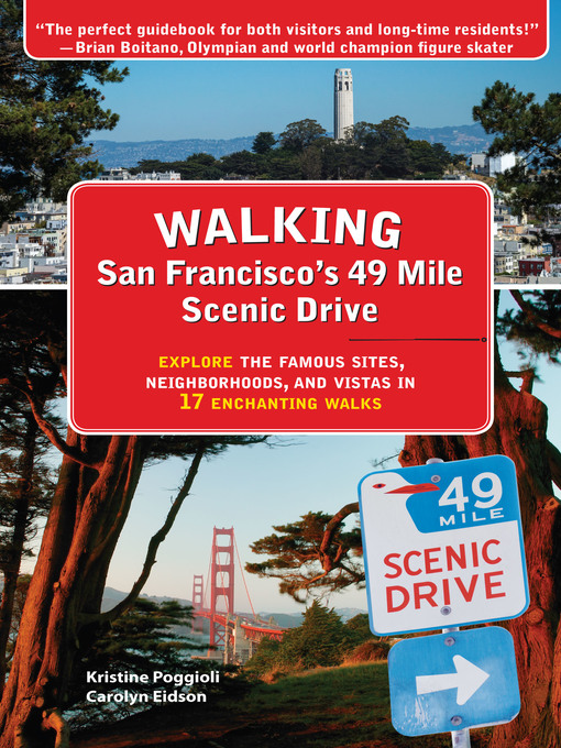 Cover of Walking San Francisco's 49 Mile Scenic Drive
