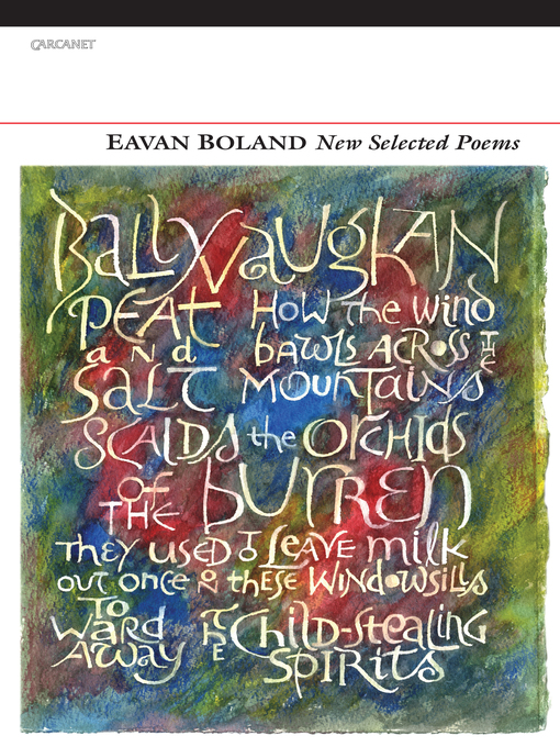 essay on poetry of eavan boland