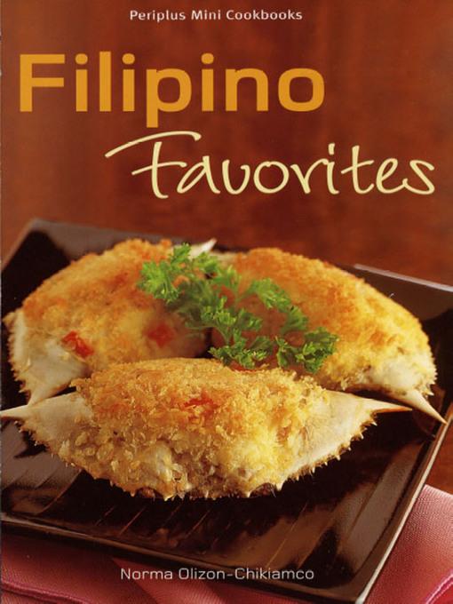 Mini Filipino Favorites National Library Board Singapore Overdrive