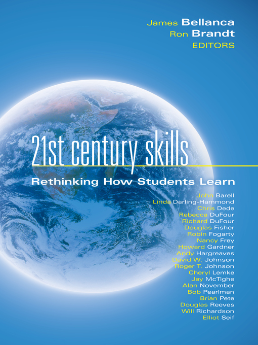 Title details for 21st Century Skills by James A. Bellanca - Wait list