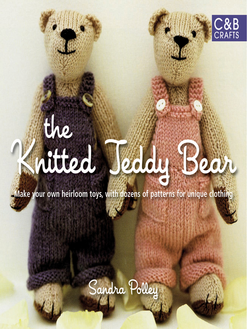 Cover of The Knitted Teddy Bear