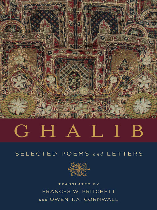 Title details for Ghalib by Mirza Asadullah Khan Ghalib - Available