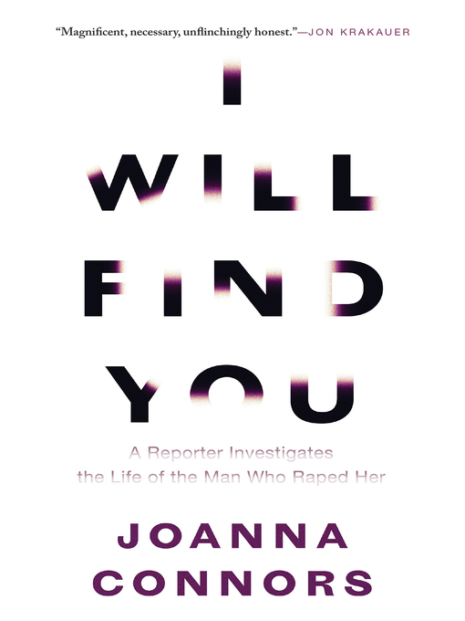 Title details for I Will Find You by Joanna Connors - Wait list