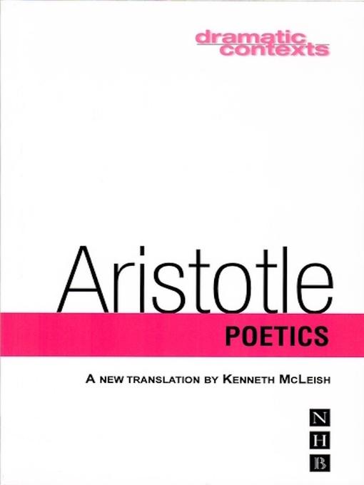 Title details for Poetics by Aristotle - Wait list