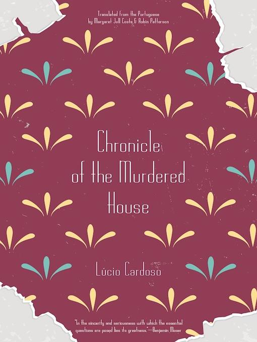 Title details for Chronicle of the Murdered House by Lúcio Cardoso - Wait list