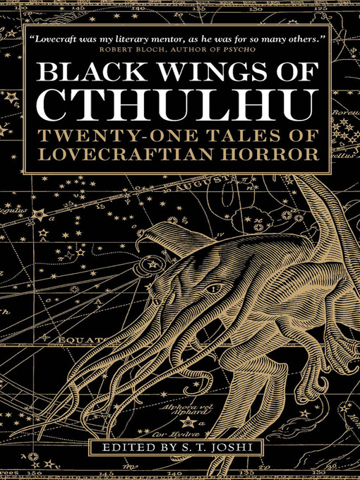 Title details for Black Wings of Cthulhu (Volume One) by S. T. Joshi - Available
