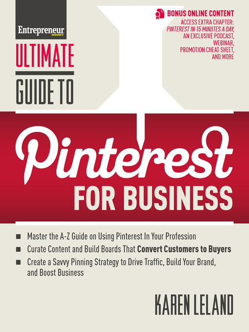 Title details for Ultimate Guide to Pinterest for Business by Karen Leland - Available