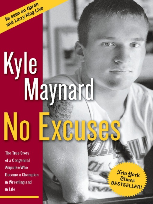 Title details for No Excuses by Kyle Maynard - Available