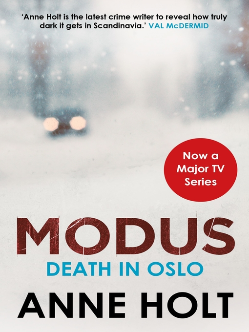Title details for Death in Oslo by Anne Holt - Available