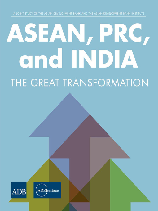 Title details for ASEAN, PRC, and India by ADBI - Wait list