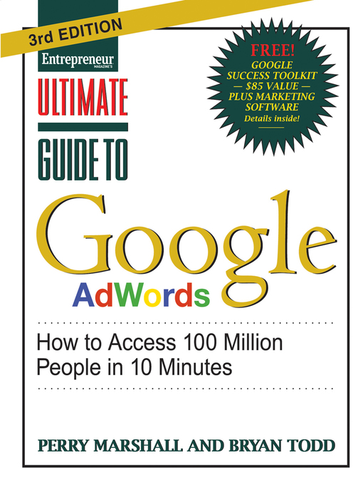 ultimate guide to google adwords national library board singapore rh nlb overdrive com ultimate guide to google adwords pdf download ultimate guide to google adwords 5th edition pdf