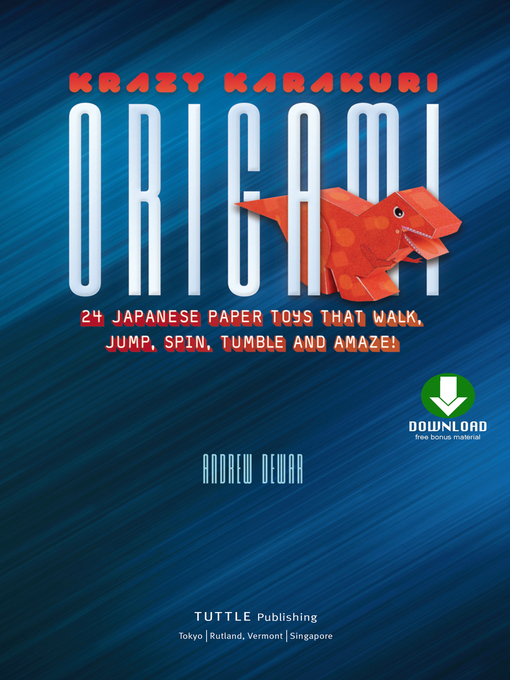 Title details for Krazy Karakuri Origami by Andrew Dewar - Available