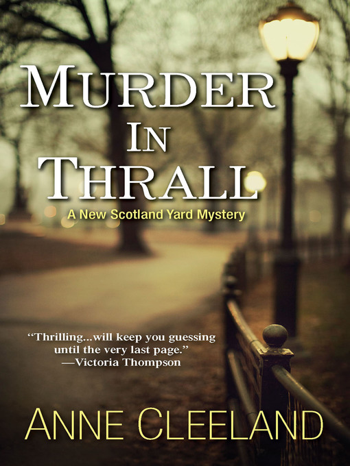 Title details for Murder In Thrall by Anne Cleeland - Wait list