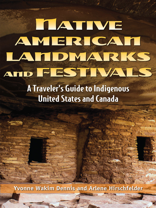 Cover of Native American Landmarks and Festivals