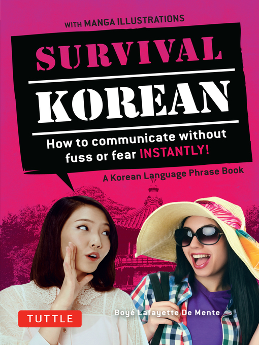 Title details for Survival Korean by Boye Lafayette De Mente - Available
