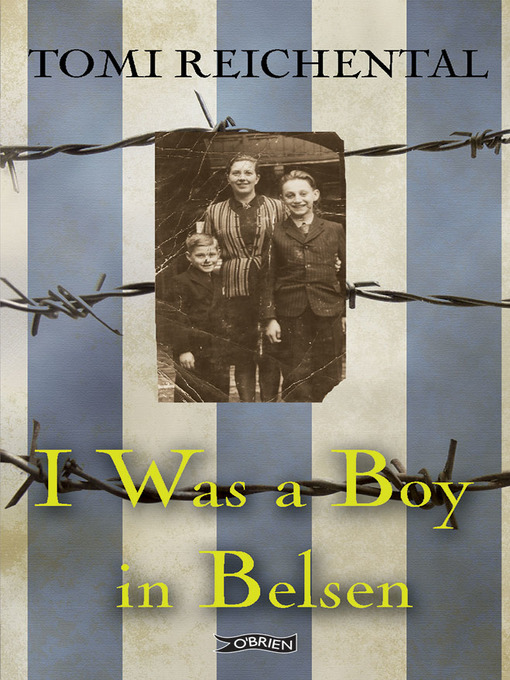 Cover of I Was a Boy in Belsen
