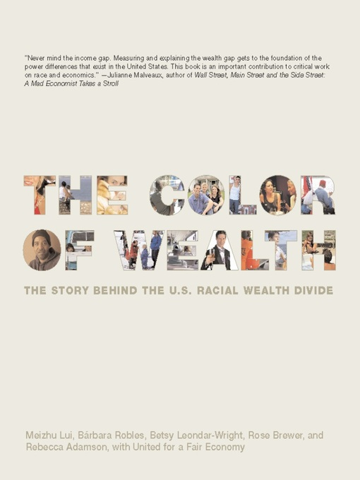 Cover of The Color of Wealth