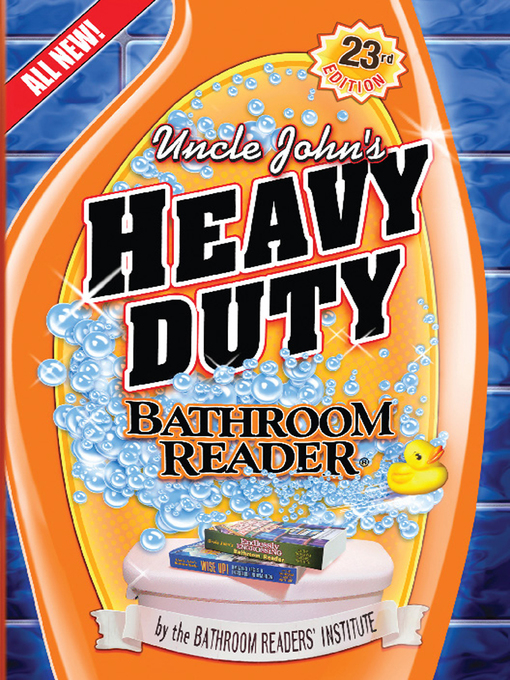 Cover of Uncle John's Heavy Duty Bathroom Reader