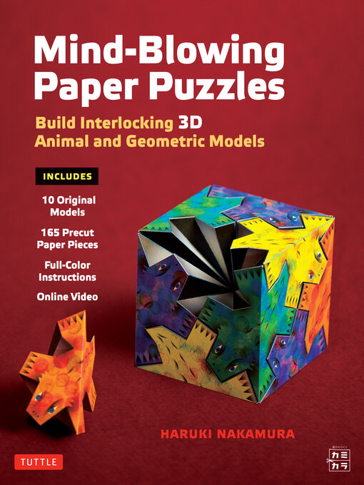 Mind-Blowing Paper Puzzles Ebook Build Interlocking 3D Animal and Geometric Models