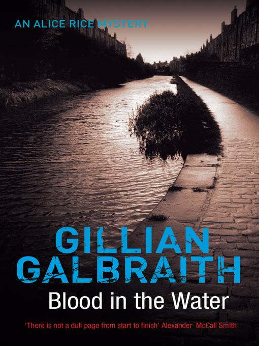 Title details for Blood in the Water by Gillian Galbraith - Wait list