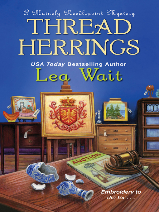 Title details for Thread Herrings by Lea Wait - Available