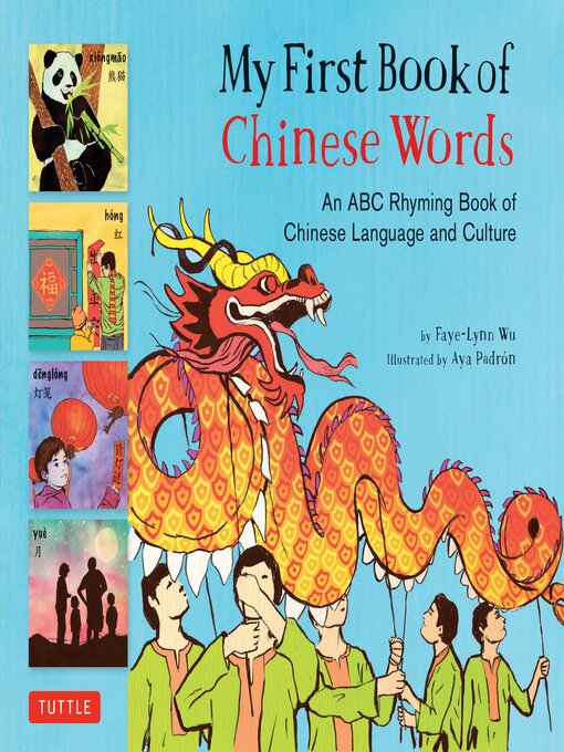 Title details for My First Book of Chinese Words by Faye-Lynn Wu - Available