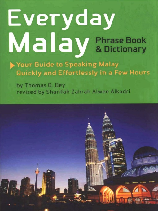 Title details for Everyday Malay by Thomas G. Oey, Ph.D. - Available