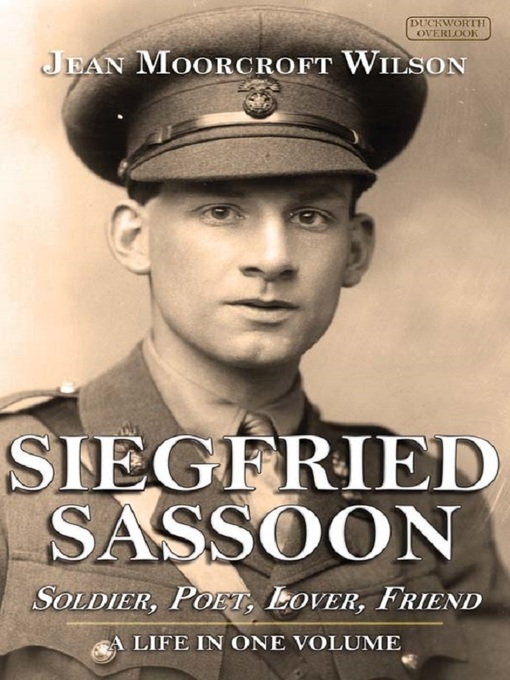 a biography of the life and literary works of siegfried sassoon Siegfried sassoon has 66 ratings and 9 reviews yara (the narratologist) said: when we think of siegfried sassoon, we think of world war one – his brutal.