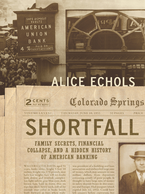 Title details for Shortfall by Alice Echols - Available
