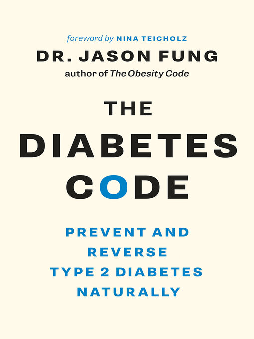 Title details for The Diabetes Code by Dr. Jason Fung - Wait list