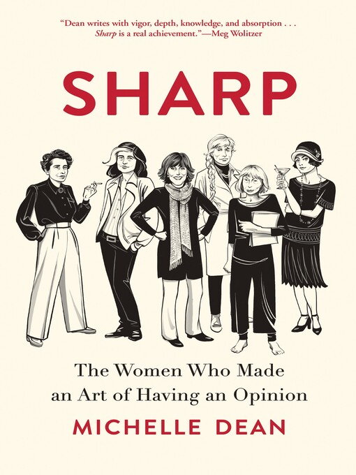 Title details for Sharp by Michelle Dean - Wait list