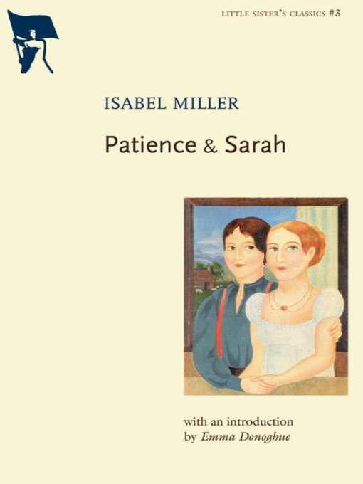 Title details for Patience & Sarah by Isabel Miller - Wait list