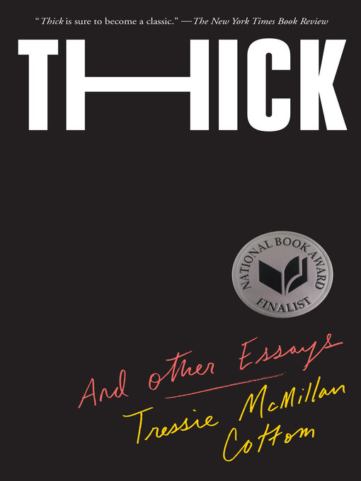 Title details for Thick by Tressie McMillan Cottom - Available