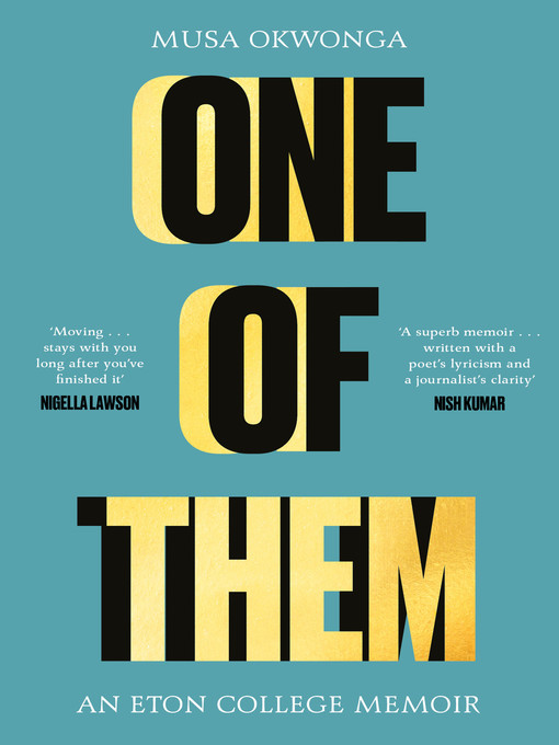 Title details for One of Them by Musa Okwonga - Available