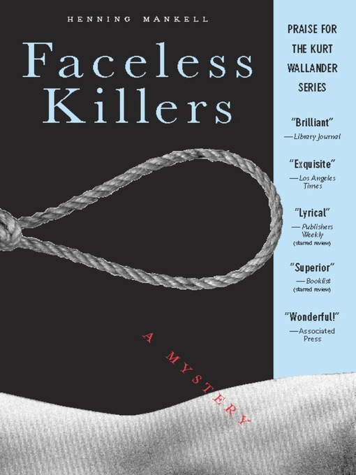Title details for Faceless Killers by Henning Mankell - Available