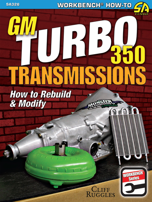 Title details for GM Turbo 350 Transmissions by Cliff Ruggles - Available