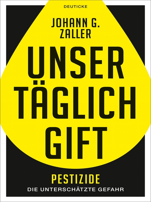 Title details for Unser täglich Gift by Johann Zaller - Available