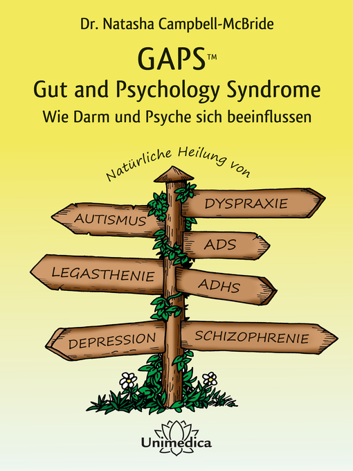 Cover of GAPS – Gut and Psychology Syndrome