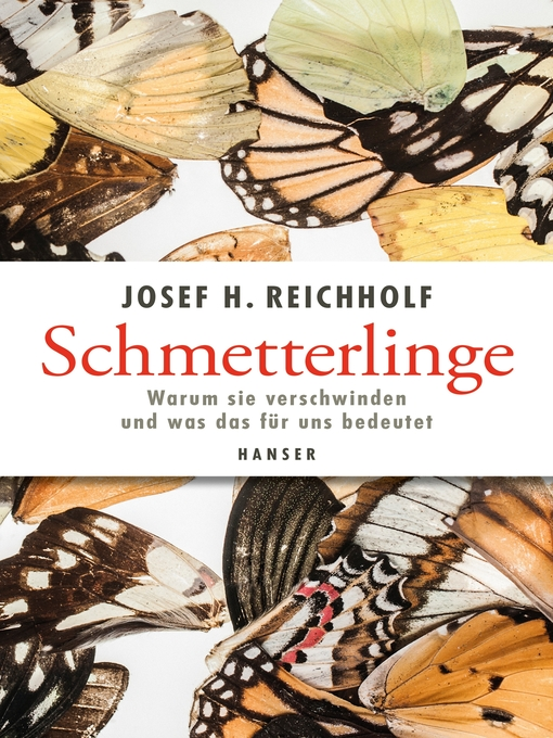 Title details for Schmetterlinge by Josef H. Reichholf - Available