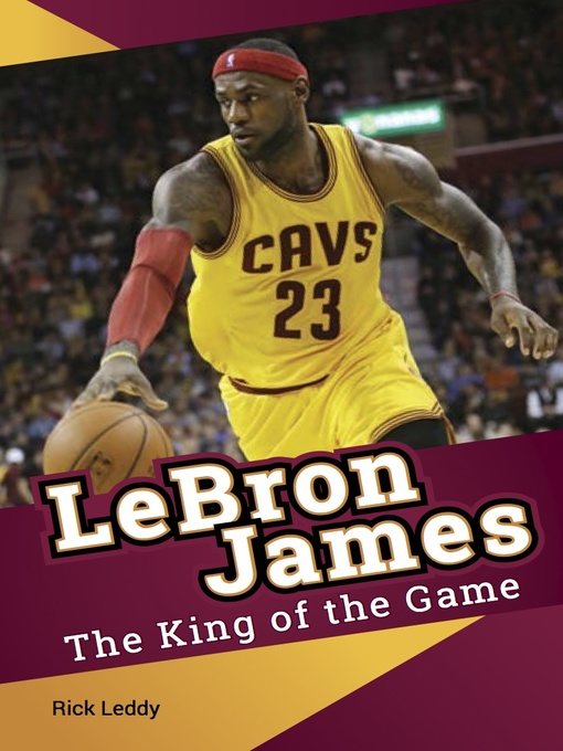 Title details for Lebron James by Rick Leddy - Available