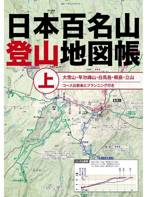 Title details for 日本百名山登山地図帳 上 by JTBパブリッシング - Available