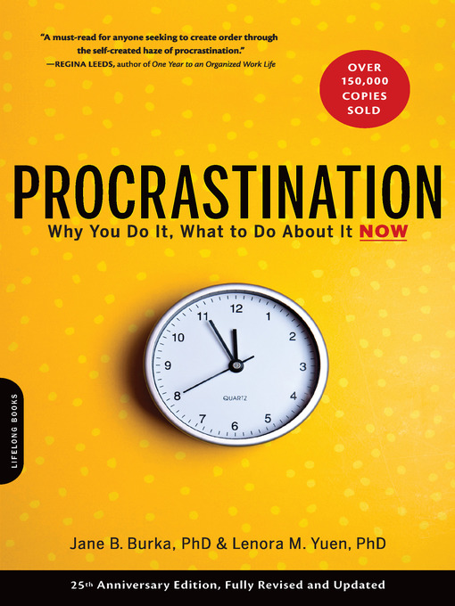 Title details for Procrastination by Jane B. Burka - Available
