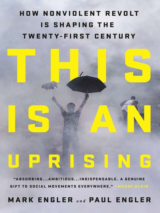 Cover of This Is an Uprising