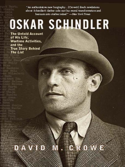 a short paper on oscar schindler Oskar schindler - short biography cordiit loading unsubscribe from cordiit a oskar schindler presentation i did for my 10th grade history lesson category.