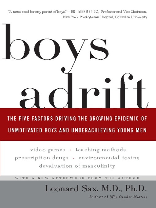 Title details for Boys Adrift by Leonard Sax - Available