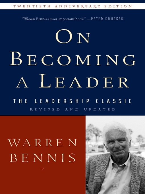 Title details for On Becoming a Leader by Warren Bennis - Wait list