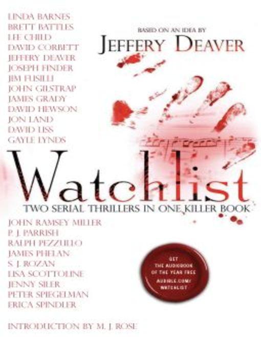 Title details for Watchlist by Jeffery Deaver - Wait list