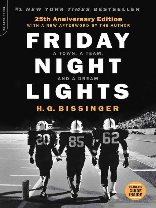 Title details for Friday Night Lights by H. G. Bissinger - Available