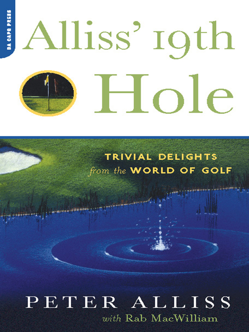 Cover of Alliss' 19th Hole